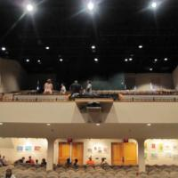 Balcony at the Wayne Densch Performing Arts Center