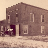 the m v dillard and company garage located on the corner of plant street and main street just north of the shelby hotel in winter garden florida