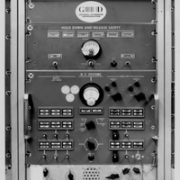 Rack of Electronic Equipment at the Cape Canaveral Air Force Station Launch Complex 14 Blockhouse