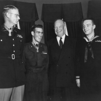 Schowalter_West_and_Charette_with_Eisenhower.jpg