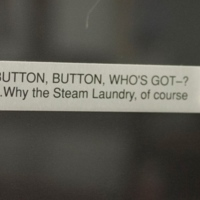 Orlando Steam Laundry Buttons