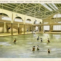 Hygeia Swimming Pool Postcard