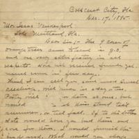 Letter from J. A. Jacobson to Isaac Vanderpool (December 17, 1895)
