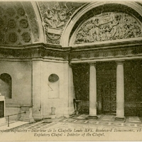 Interior of the Chapel of Louis XVI Postcard