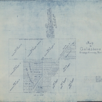 Map of Goldsboro, Orange County, Florida
