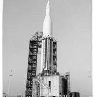 Saturn I Launch at Launch Complex 34