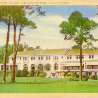 Del Monte Lodge Postcard