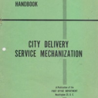Methods Handbook: City Delivery Service Mechanization