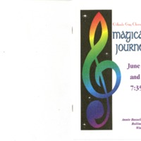 Magical Journeys, June 24 & 25, 2000