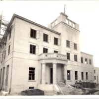 Construction of the Downtown Orlando Post Office, October 1940