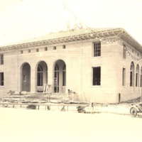 Construction of the Downtown Orlando Post Office, July 1917