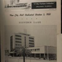 City Hallways, Souvenir Issue, October 1958