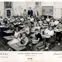 Westside Grammar Elementary School Fifth and Sixth Grade Class, 1964-1965