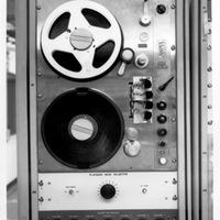 Playback Head Selector Equipment at the Cape Canaveral Air Force Station Launch Complex 14 Blockhouse