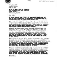 Letter from Harold L. Moody to J. W. Woods (June 6, 1967)
