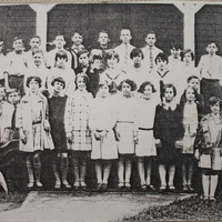 Seventh and Eighth Graders at St. Joseph's Academy, 1928