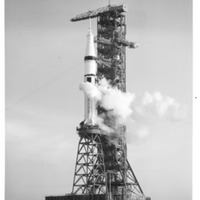 Skylab 3 Preparing for Launch on Launch Pad 39B