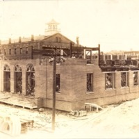 Construction of the Downtown Orlando Post Office, April 1917