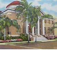 First Baptist Church of Orlando Postcard