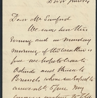 Letter from William MacKinnon to Henry Shelton Sanford (June 14, 1879)