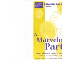 A Marvelous Party, March 23 & 24, 2002