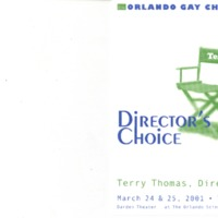 Director's Choice, March 24 & 25, 2001