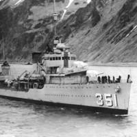 U.S.S. MacDounough (DD-351)