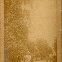 Henry Sanford's Daughter at Belair Grove