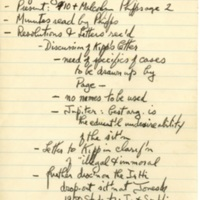 Minutes of Monthly Meeting, May 1959