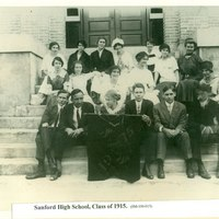 Sanford High School Class of 1915