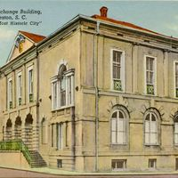 Exchange Building Postcard