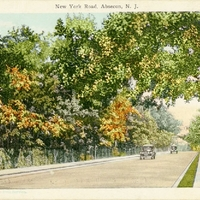New York Road Postcard