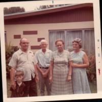 Wayne, Gertrude, Ruf and Maude Goins