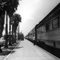 Atlantic Coast Line Railroad Passenger Cars at Fort Pierce