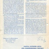 Florida From the House...To Your Home Newsletter, December 1975