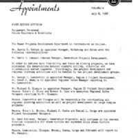 Memorandum from Thomas E. Campbell (July 8, 1988)