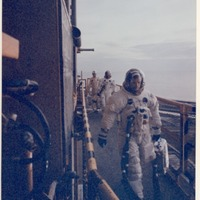 Astronauts Boarding Apollo 11