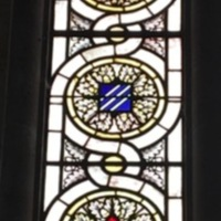 3rd Infantry Division Stained Glass Window