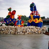 LEGO Structure at Downtown Disney, 1998