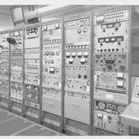 Electronic Equipment Racks at the Cape Canaveral Air Force Station Launch Complex 14 Blockhouse