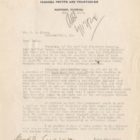 Letter from Sydney Octavius Chase to Joshua Coffin Chase (July 11, 1924)