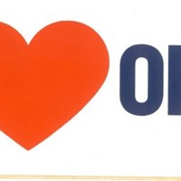 We Heart Orlando Bumper Sticker