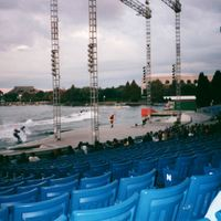 Water Ski Show at SeaWorld Orlando, 2001