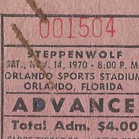 Steppenwolf Ticket Stub