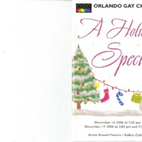 A Holiday Special, December 16 & 17, 2006