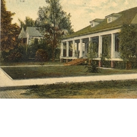 Rosalind Club House Postcard