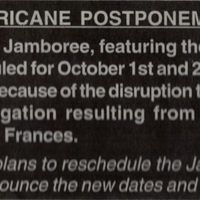 Hurricane Postponement