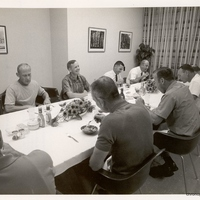Apollo 11 Crew at the Pre-Flight Dinner