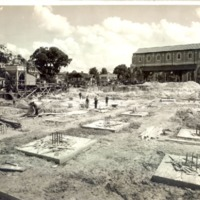 Construction of the Downtown Orlando Post Office, April 1, 1940