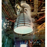 Space Shuttle Main Engine (SSME) Test